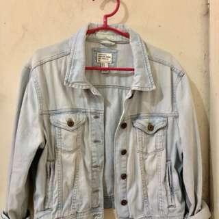 FOREVER 21 Faded Denim Jacket