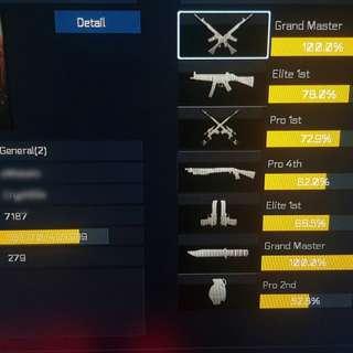 Blackshot Account 4 STAR