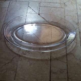 Mangkok kue besar bening 1 pc