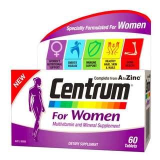 Centrum Multivitamins for Women