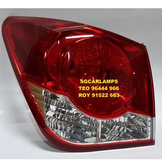 Chevrolet Cruze 2009 Tail Lights
