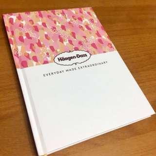 🍨Haagen-Dazs Diary日記簿📕📗📘📙[100%新品]