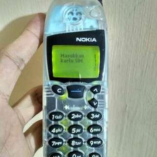 Nokia 5110 Transparan Sky Blue