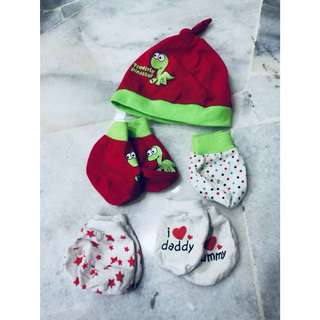 13's pairs MOTHERCARE Newborn Mittens Sets