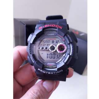 Genuine Casio GD-100-1ADR G-Shock Watch