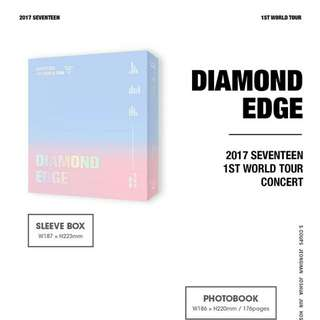 SEVENTEEN-2017 SEVENTEEN 1st World Tour Concert in Seoul: Diamond Edge [DVD]
