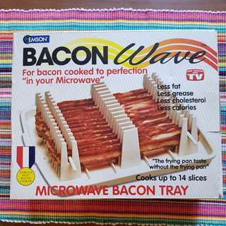 SALE! New Microwave Bacon Cooker Tray (As Seen On TV)