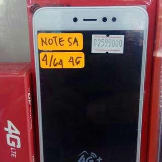 Xiomi note 5A 4/64