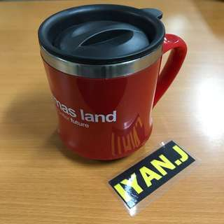 Coffee / Tea Mug - Sinarmas Land - Red