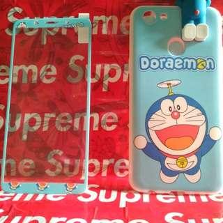Softcase oppo f5 karakter doraemon