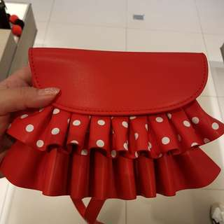 BN Charles N Keith Disney Limited Edition Bag (red)