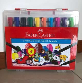 Brand new Faber Castell coloring set