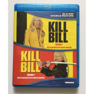 Kill Bill: Volume 1 & 2 Blu Ray