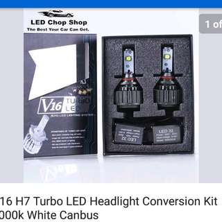 V16 turbo led