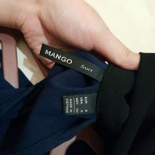 Mango top with scarf