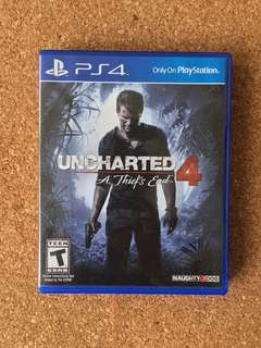 PS4 - Uncharted 4: At Thief's End (Free Delivery)