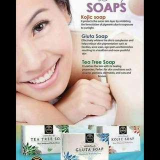 Gluta and Tea tree Soaps