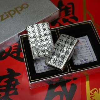 🏮元宵節🏮日本版ZiPPO打火機JZ35950情侶套裝 元宵佳節 中國情人節禮物❤️新春抽獎禮物