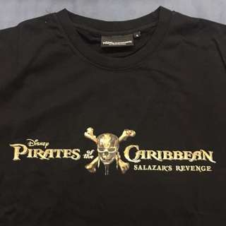 Pirates of the Caribbean T-SHIRT (Size M)