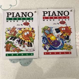 Piano Books - Lina Ng Piano Made Easy Book 2 & 3