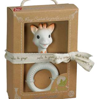 Sophie la Girafe So'Pure Ring Teether (100% Natural Rubber)