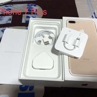 iPhone 7 plus 全套配件連盒(不連機)