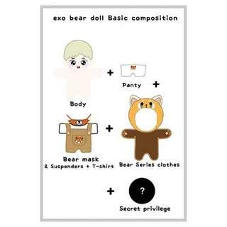 Exo Bear Dolls