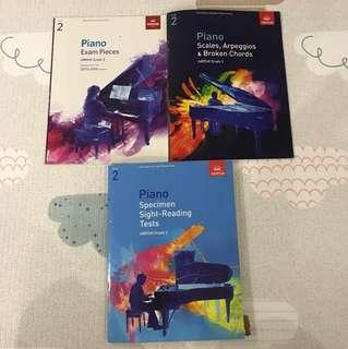 Piano Books - ABRSM Grade 2