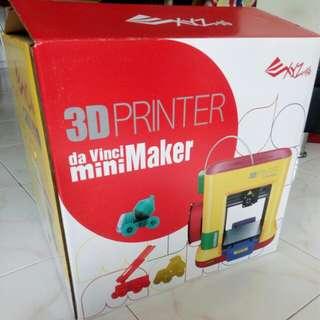 3D printer, XYZ printing DaVinci MiniMaker