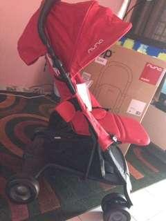 Nuna Pepp Luxx Scarlet Baby Stroller