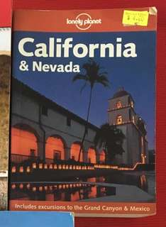 Travel book - California and Nevada