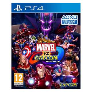 Marvel Vs Capcom: Infinite (PS4)