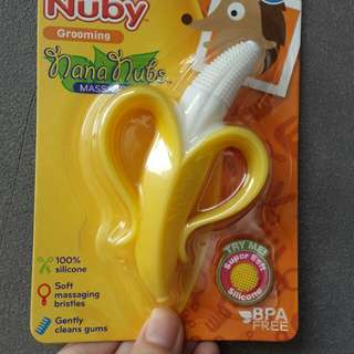 teether banana nuby