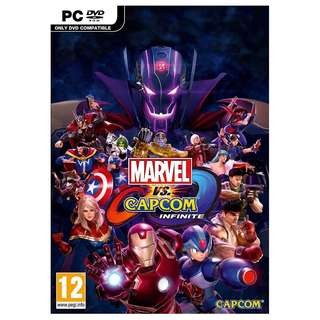 Marvel Vs Capcom: Infinite (PC) + Free Poster + Free Comic