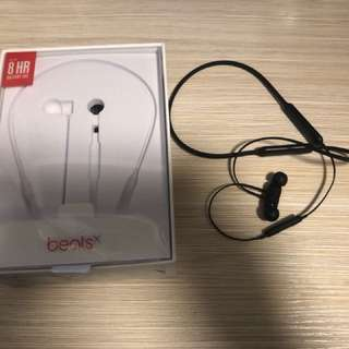 Beatsx 黑色 無線藍芽耳機
