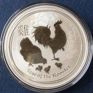 2017 澳洲 雞年 銀幣1盎司
