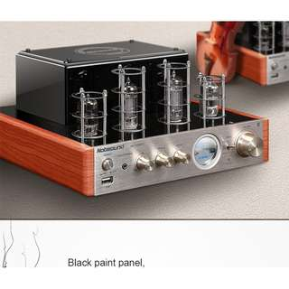 Nobsound MS-10D Hifi 2.0 Vaccum Tube Amplifier USB Home Audio Amplifier Tube Bluetooth Headphone