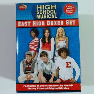 8 for $200 FREE POSTAL. High school musical boxed set