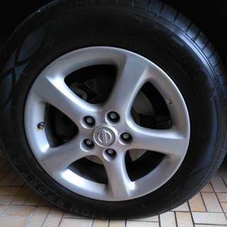 Tyre 215/60/16 2pcs
