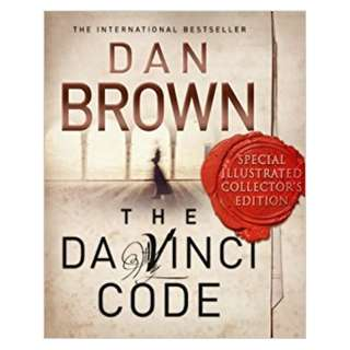 The Da Vinci Code Illustrated book (Hardback)