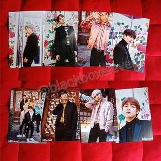 Mini poster BTS set a