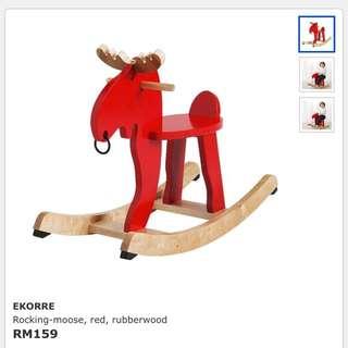 Ikea Ekorre Rocking Moose