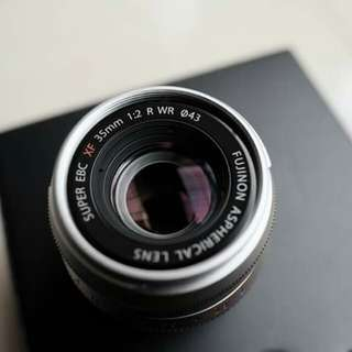 Fujifilm fujinon 35mm f2 R