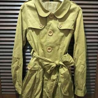 Mustard Trech Coat