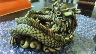 Rare Dragon ashtray