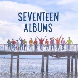 [PREORDER] SEVENTEEN ALBUMS