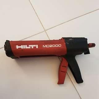 Hilti MD 2000 Adhesive Dispenser Epoxy Gun MD2000