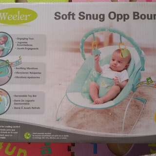Sugar baby, baby bouncer soft snug.