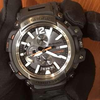 真係二手錶嚟嫁 casio G-Shock GPW-2000-1ACR GPW2000 GRAVITYMASTER BLUETOOTH GPS HYBRID 碳纖錶帶 carbon fine resin not GPW-1000 GPW1000