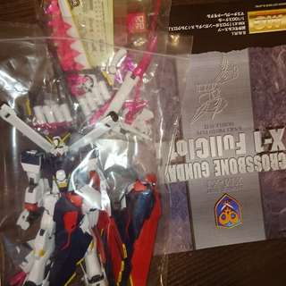 Bandai mg gundam X 1 full cloth 已砌